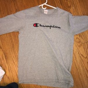 Grey champion long sleeve